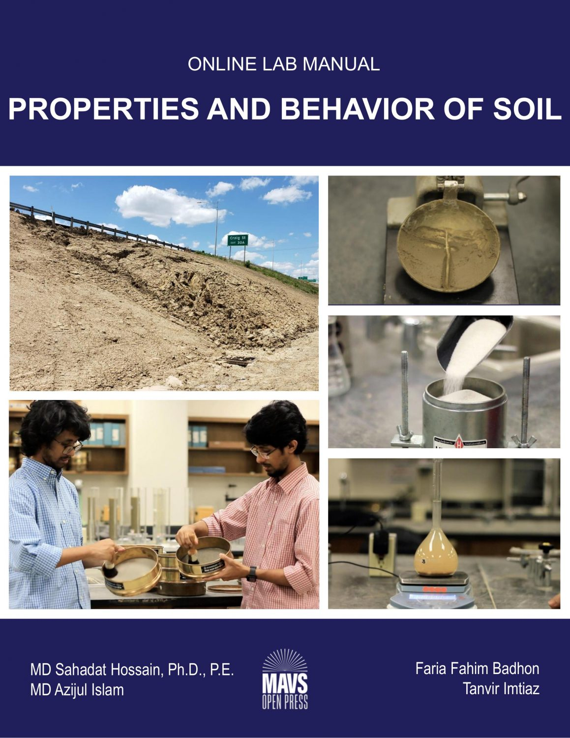 Cover image for Properties and Behavior of Soil - Online Lab Manual