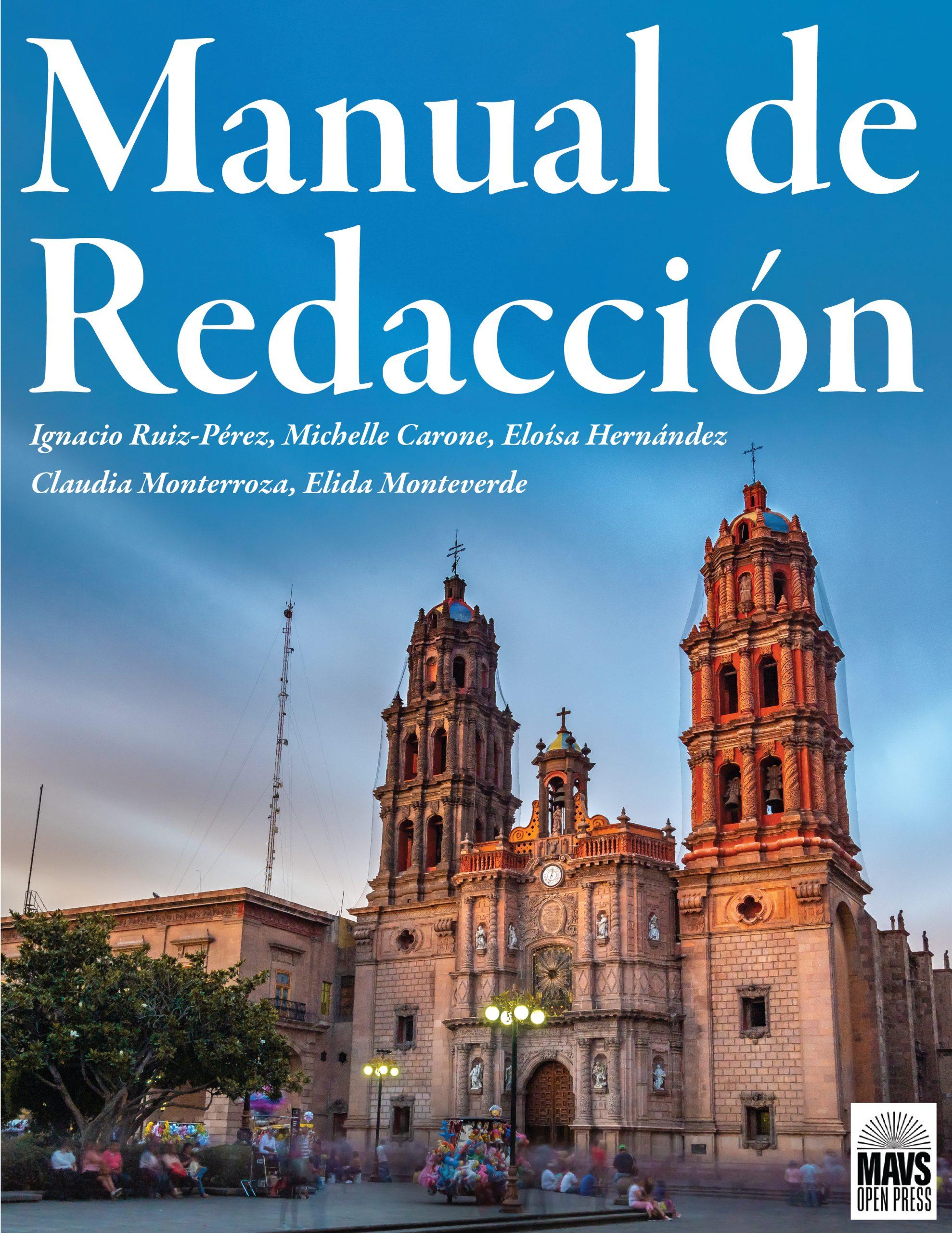 Cover image for Manual de Redacción