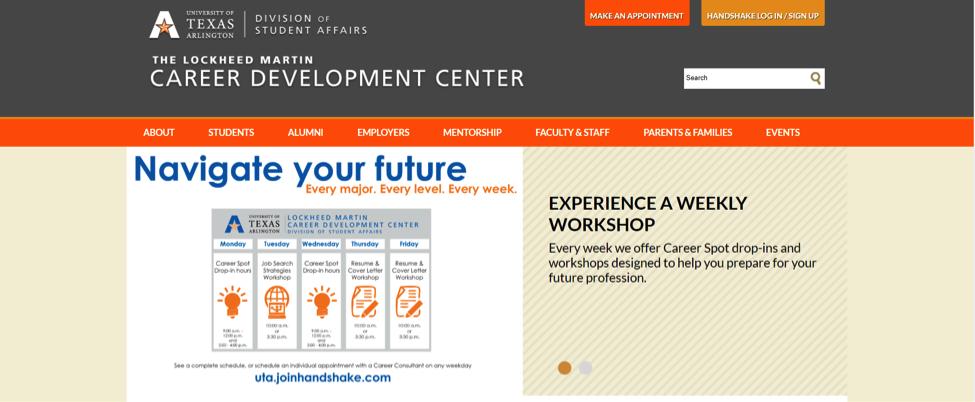 Career Center Homepage