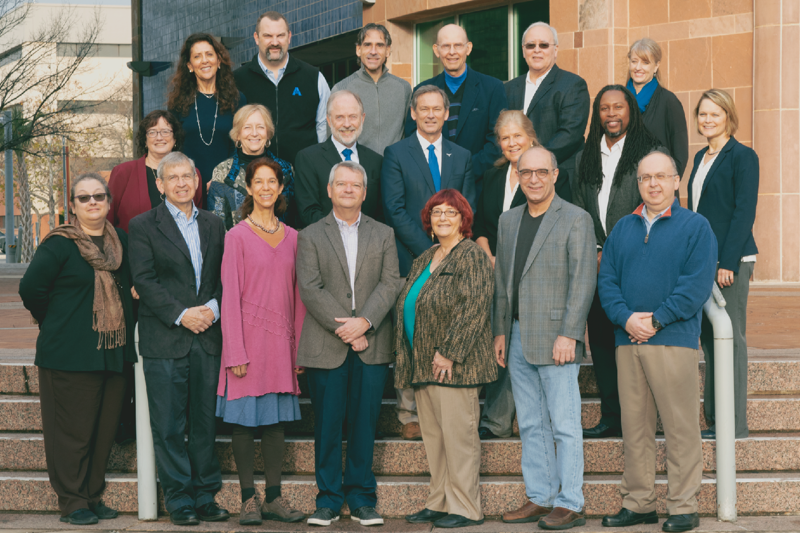 Group photo of the Fellows of the UT System Academy of Distinguished Teachers