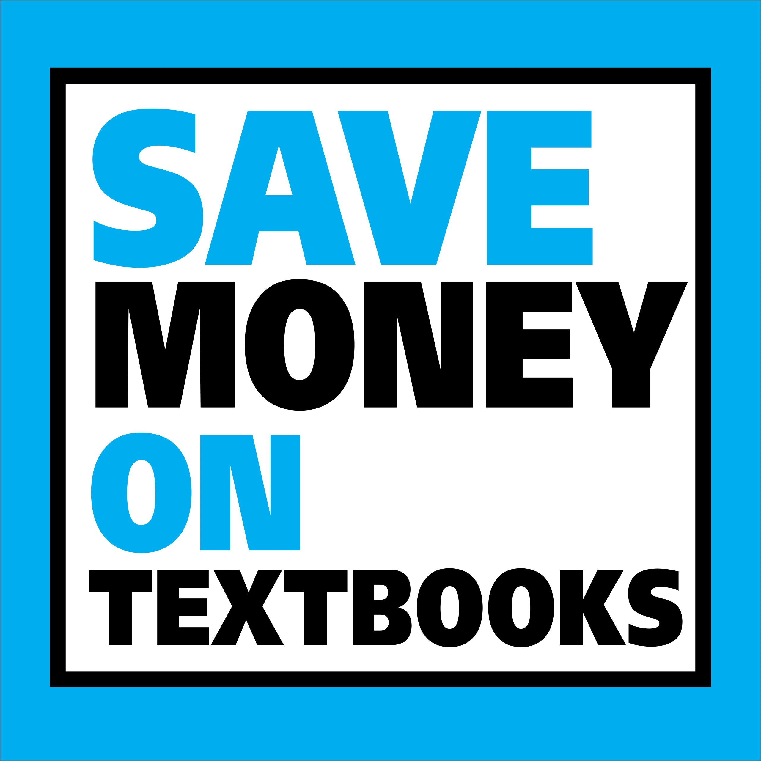 "UTA Flier that reads ""Save Money on Textbooks"""